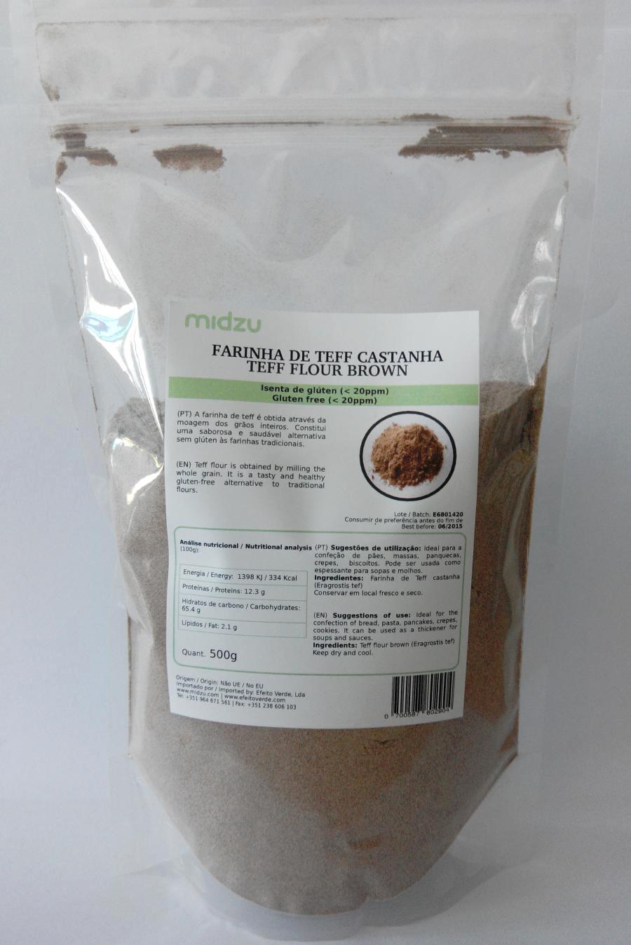 Farina di Teff scura Midzu - 500 gr