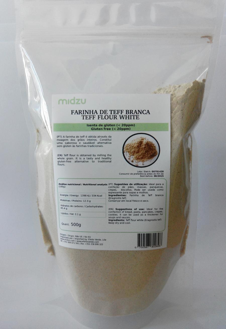 Farina di Teff bianca Midzu - 500 gr