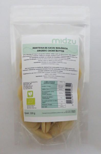 Burro di cacao biologico Midzu - 100 gr