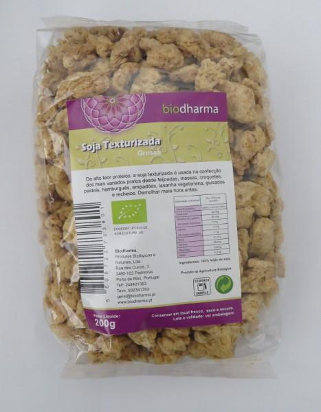 Granulato di soia biologica grossa - 200 gr