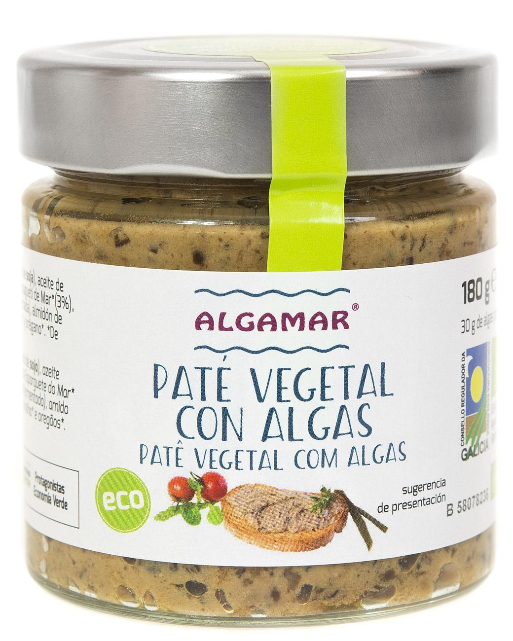 Patè di alga biologiche - 180 gr