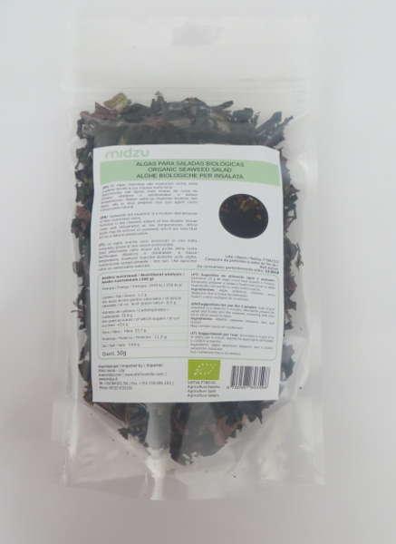 Alga biologiche per insalate Midzu - 50 gr