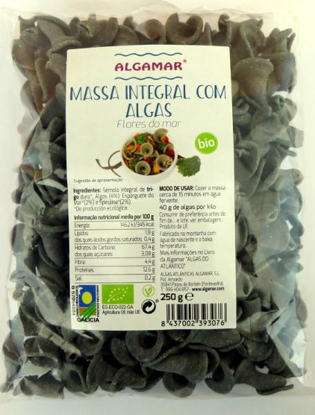 Pasta integrale con alghe biologiche - 250 gr
