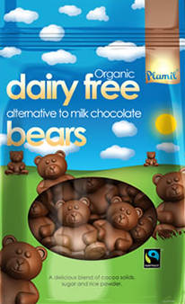 Orsetti di cioccolato biologici - 125 gr