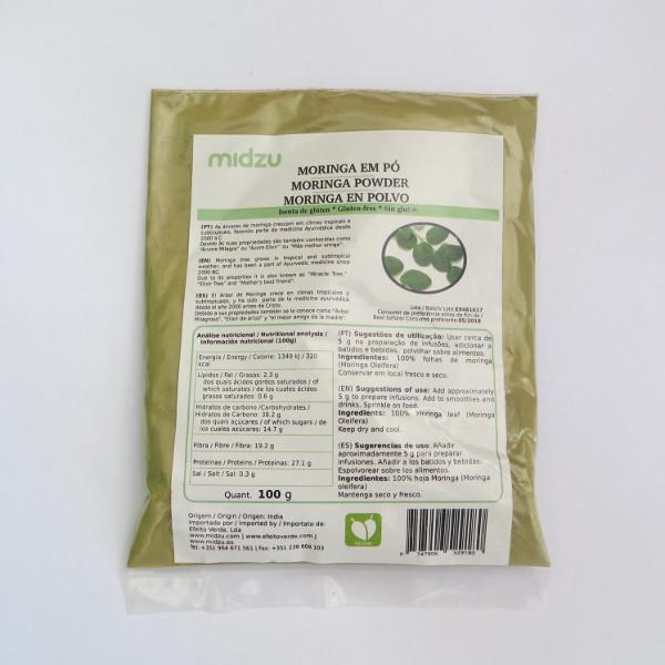 Polvere di Moringa Midzu 200g