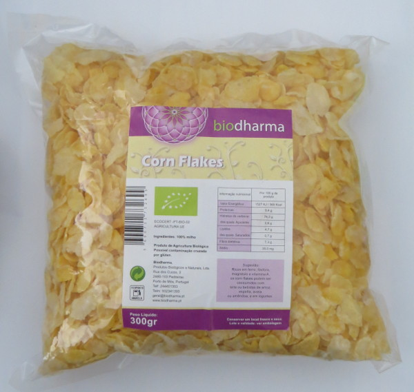 Corn flakes biologici 350 g