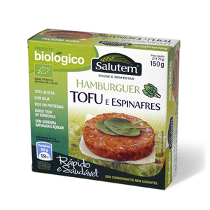 Hamburger Biologici Tofu e Spinaci Salutem