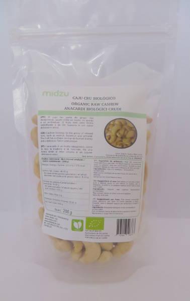 Anacardi crudi biologici Midzu - 5 Kg