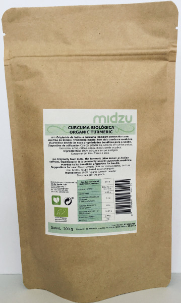 Curcuma Biologica Midzu  100 g