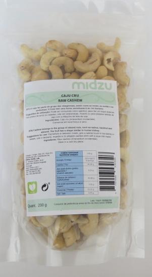 Anacardi Crudi Midzu 200 g