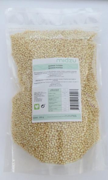 Quinoa Soffiata Midzu 150 g