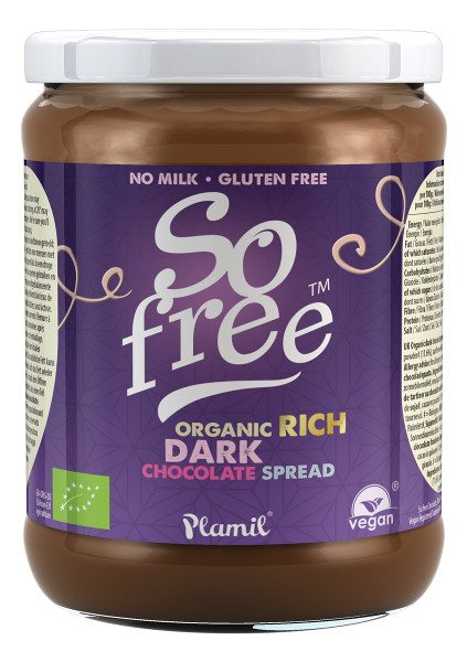 Crema spalmabile al cioccolato biologica So Free - 275g -  senza glutine