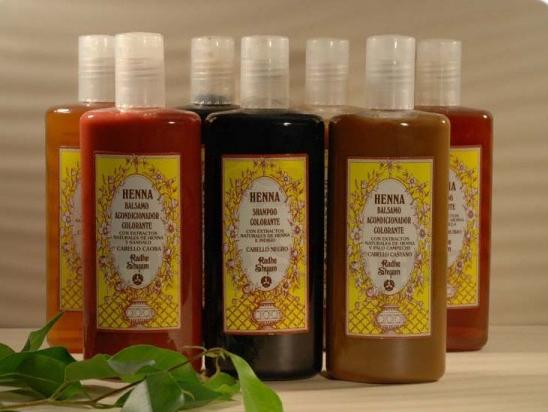 Balsamo colorante Henna per capelli castani - 250 ml