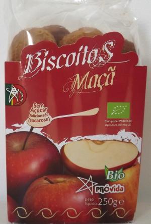 Biscotti alla mela biologici - 250 gr