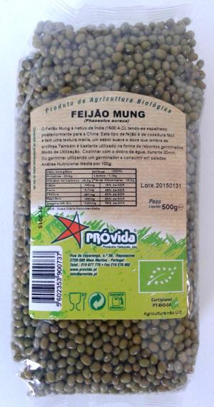 Fagioli Mung biologici - 500 gr