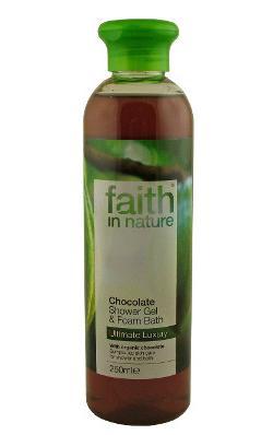 Gel doccia e schiuma da bagno al cioccolato 250 ml - Bagno di cioccolato ...