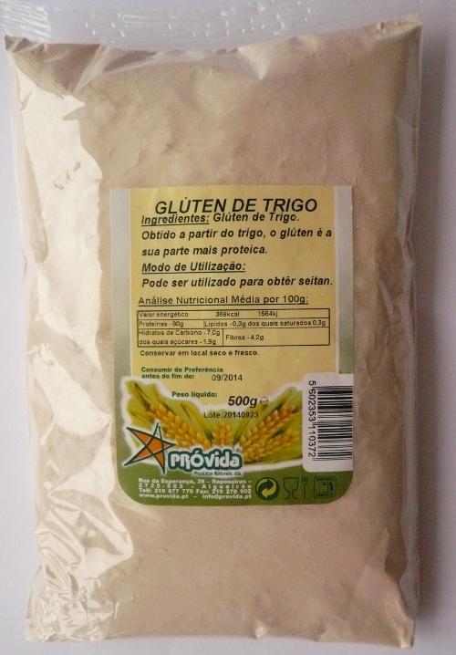 Glutine di grano - 500 gr