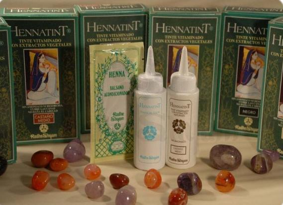 Colorazione Hennatint castano scuro - 60 ml